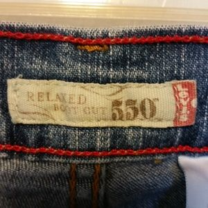Levi's Jeans - Levi's Jeans 550 Relaxed Boot Cut Size 14P